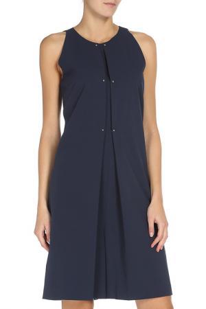 Платье PHILOSOPHY. Цвет: синий