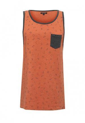 Майка Animal. Цвет: оранжевый