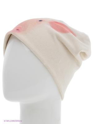 Шапка MARIELA. Цвет: молочный, розовый