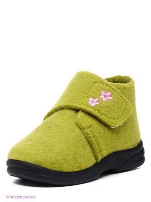 Ботинки SKIDDERS. Цвет: зеленый