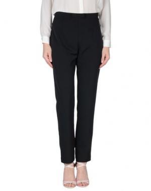 Повседневные брюки LES BLANC. Цвет: черный