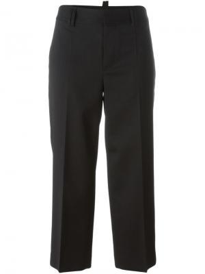 Укороченные брюки Dsquared2. Цвет: чёрный