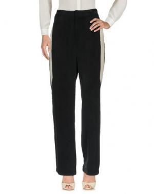 Повседневные брюки TONY COHEN. Цвет: черный