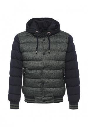 Куртка утепленная Mastice. Цвет: зеленый
