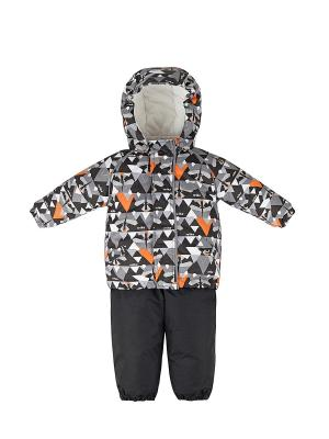 Комплект детский (куртка+полукомбинезон) REIKE. Цвет: серый