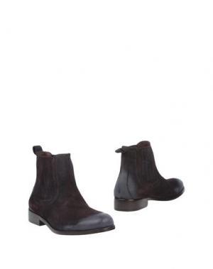 Полусапоги и высокие ботинки BRUNO MAGLI. Цвет: какао
