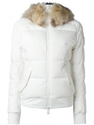 Куртка-пуховик Ariane Rossignol. Цвет: белый
