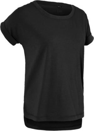 Спортивная футболка с коротким рукавом (черный) bonprix. Цвет: черный