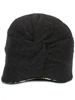 Кепка Drusilla Alto Super Duper Hats. Цвет: чёрный