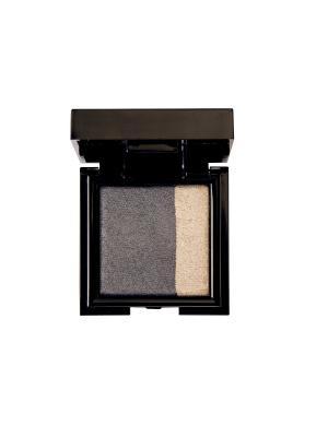 Запечённые двойные тени для сухого и влажного нанесения Noubatwin 31, 4гр NOUBA. Цвет: серебристый, антрацитовый