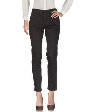 Повседневные брюки MICHAEL FORPUS. Цвет: темно-коричневый