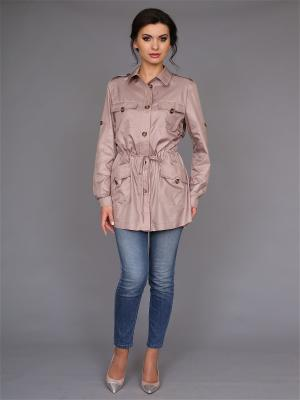 Куртка nasha. Цвет: бежевый
