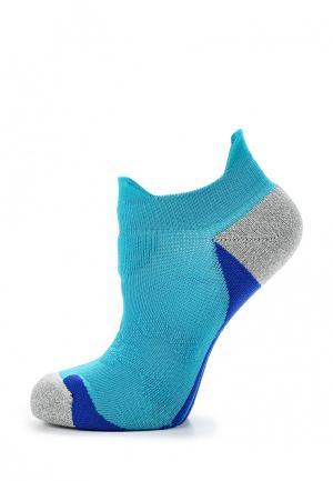 Носки ASICS. Цвет: голубой