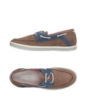Обувь на шнурках GUARDIANI DRIVE. Цвет: хаки