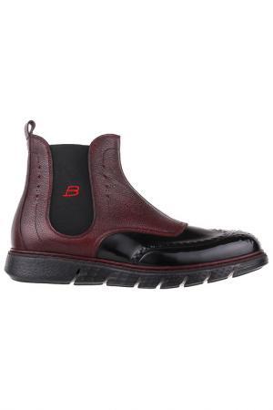 Ботинки Barracuda. Цвет: красный