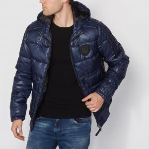 Куртка с капюшоном PETROL INDUSTRIES. Цвет: темно-синий