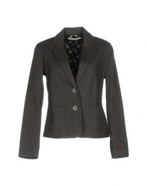 Пиджак NICE THINGS by PALOMA S.. Цвет: свинцово-серый