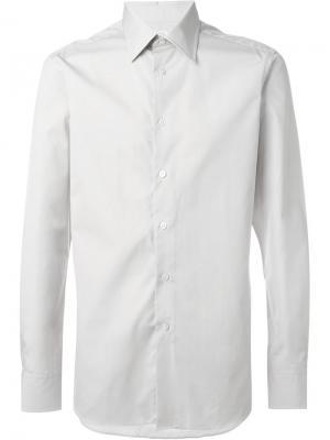 Классическая рубашка E. Tautz. Цвет: телесный