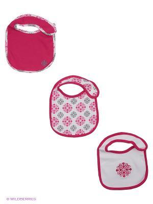 Комплект нагрудники Yoga Sprout. Цвет: розовый