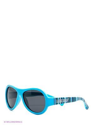Солнцезащитные очки Babiators Polarized. Сверхзвуковые полоски. Цвет: голубой