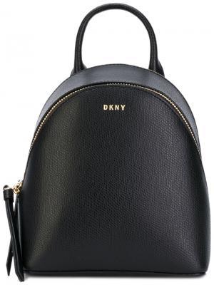 Мини-рюкзак Saffiano Donna Karan. Цвет: чёрный