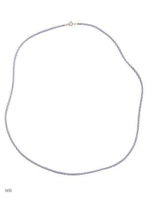 Ювелирный шнурок ARTIS. Цвет: серый