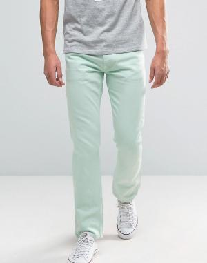Tommy Jeans Светло-зеленые прямые джинсы в стиле 90-х M17. Цвет: зеленый
