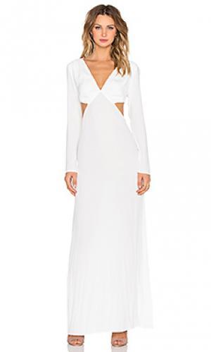 Макси платье The LDRS. Цвет: ivory