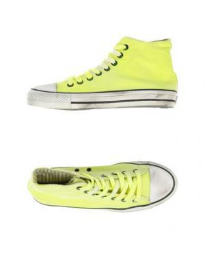 Высокие кеды и кроссовки 2STAR. Цвет: светло-желтый