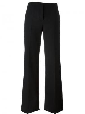 Классические брюки с клешем ниже колена Marni. Цвет: чёрный
