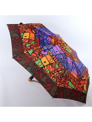 Зонт Airton. Цвет: красный, светло-оранжевый