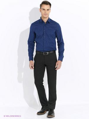 Рубашка Club21. Цвет: темно-синий