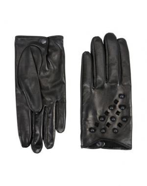 Перчатки LIA BOO ACCESSORIES. Цвет: черный