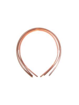 Ободок (набор 3 шт) Bizon. Цвет: коричневый