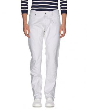 Джинсовые брюки JEY COLE MAN. Цвет: белый