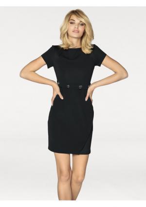 Мини-платье Rick Cardona. Цвет: черный