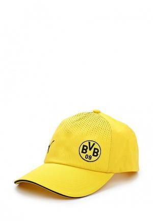Бейсболка PUMA. Цвет: желтый