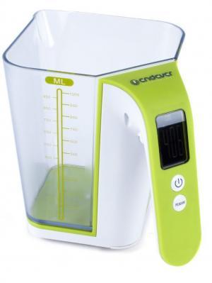 Кухонные весы Endever. Цвет: зеленый
