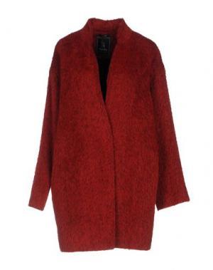 Пальто HANITA. Цвет: красный