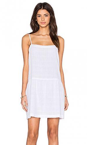 Платье maybelle LACAUSA. Цвет: белый