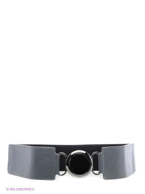Ремень Olio Rosti. Цвет: серый