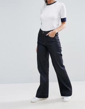 Waven Классические расклешенные джинсы Fenn. Цвет: синий
