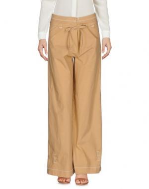 Повседневные брюки MISHAP. Цвет: верблюжий