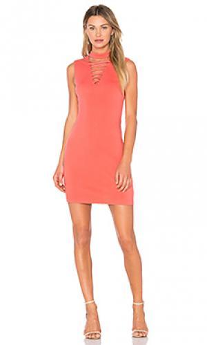 Платье el caiman Bailey 44. Цвет: коралл