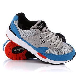 Кеды кроссовки  Indo Highrise Gravis. Цвет: синий,серый