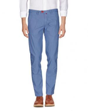 Повседневные брюки BARONIO. Цвет: пастельно-синий