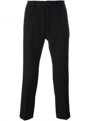 Укороченные брюки Pence. Цвет: чёрный