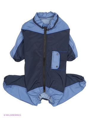 Дождевик холодный (Питбуль) ТУЗИК. Цвет: синий