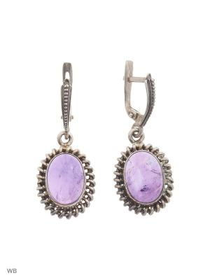 Ювелирные серьги FRESH Jewelry. Цвет: серебристый