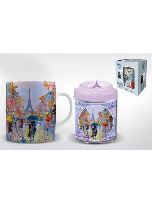 Подарочный набор ДОЖДЬ В ПАРИЖЕ Magic Home. Цвет: синий, розовый, белый